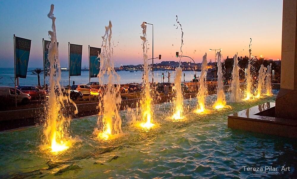 Mirage Hotel fountain. Cascais by terezadelpilar ~ art & architecture