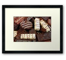 Baker - Who wants cookies Framed Print