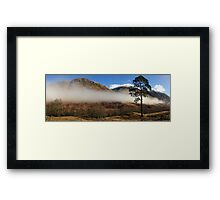 Glen Nevis in Lochaber. Framed Print