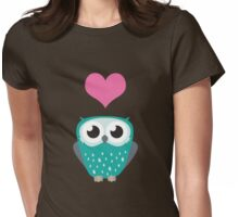 Owl Love You Forever (Boy) Womens Fitted T-Shirt