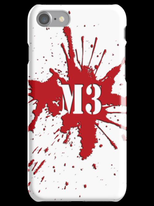 M3 Blood Spatter Logo by Machiavella3