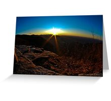 Pretty Place Sunrise Greeting Card