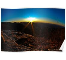 Pretty Place Sunrise Poster