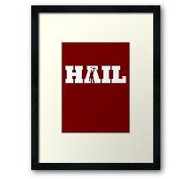 HAIL - Evil Dead Framed Print