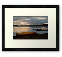 Sunrise at Lake of Two Rivers, Algonquin Park, ON Framed Print