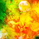 Colorful and smeared by Silvia Ganora