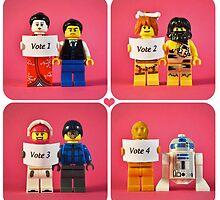 Lego Best Couple Award by designholic