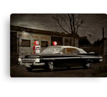 At the Bowser Canvas Print
