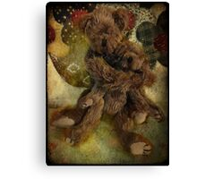Gimme a big ol bear hug! Canvas Print