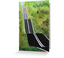 Hilltop Road Greeting Card
