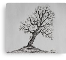Hilltop Tree Canvas Print