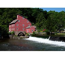 Red Mill Photographic Print