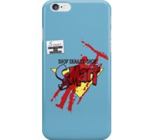 Ash's S-Mart blood-soaked t-shirt iPhone Case/Skin
