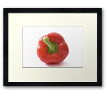 Red Pepper Wall Art Framed Print