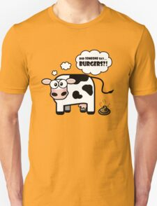 Burgers?! (Oops... I Pooped version 2) Unisex T-Shirt