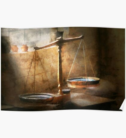Lawyer - Scale - Balanced law Poster