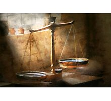 Lawyer - Scale - Balanced law Photographic Print