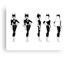 Batgirl Turnaround Canvas Print