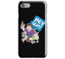 """Hey Guys!"" Cartoon iPhone Case/Skin"