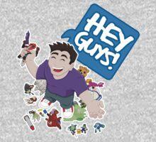 """Hey Guys!"" Cartoon Kids Tee"