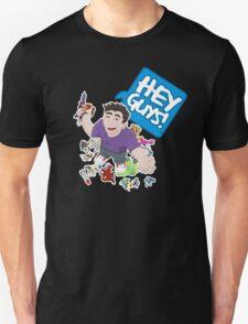 """""""Hey Guys!"""" Cartoon T-Shirt"""