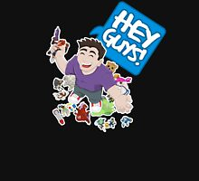 """Hey Guys!"" Cartoon Unisex T-Shirt"