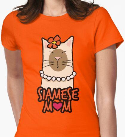 Siamese Cat Mom T-Shirt