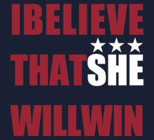 I Beliveve that SHE will win! by buzzsport