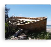 After The High Tide Canvas Print