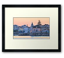 night fall at Cascais Framed Print