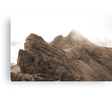 The Bhasteirs and Sgurr Nan Gillean Canvas Print