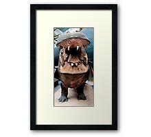 I Wanna Hippopotamus...  Framed Print