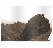 Sgurr Alasdair and the Inaccessible Pinnacle, Skye Poster