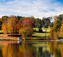 Autumn Reflection by Greg Booher