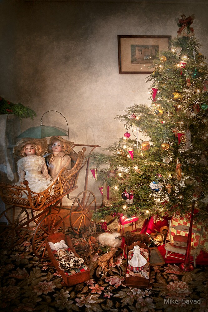 Christmas - My first Christmas  by Mike  Savad