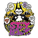 Stay Back by blacklilypie