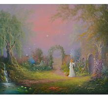 Eowyn In The Garden Of Healing Photographic Print
