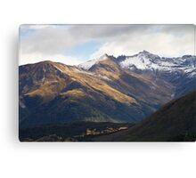 N.Z. Rugged Mountains 07 Canvas Print