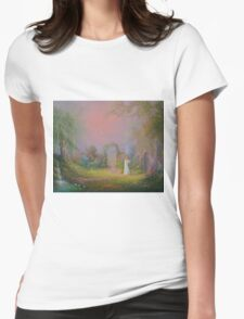 Eowyn In The Garden Of Healing Womens Fitted T-Shirt