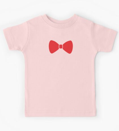 Red Bow Kids Tee