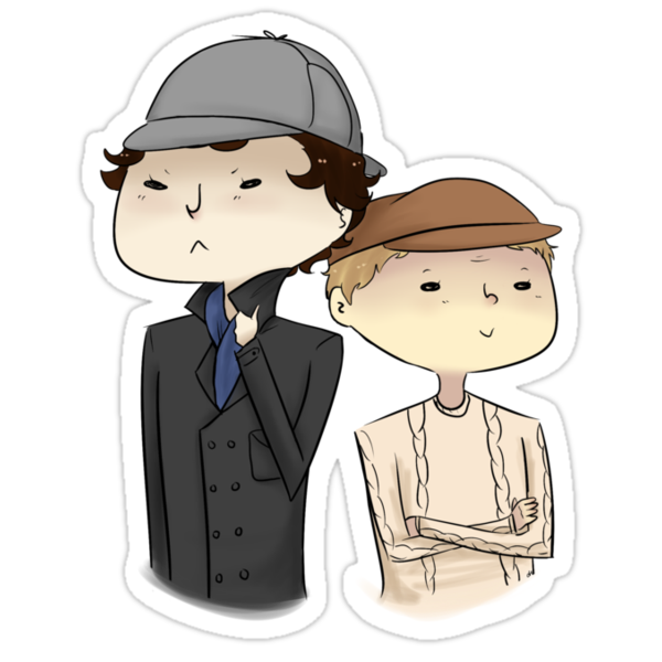 Sherlock and John Hats by pilts