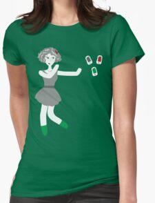 Socialmedia Lady - repulsion Womens Fitted T-Shirt