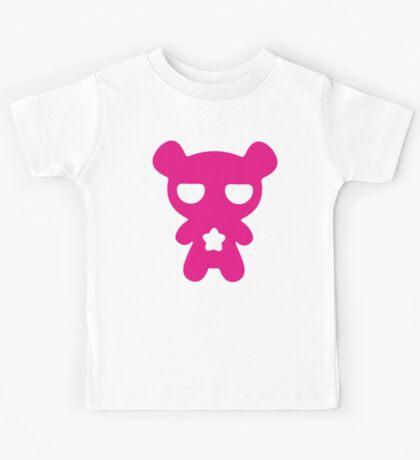 Magenta Lazy Bear (Cute and Pink) Kids Tee