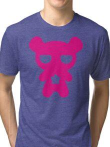 Lazy Bear Pink Tri-blend T-Shirt