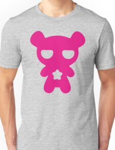 Lazy Bear Pink Unisex T-Shirt