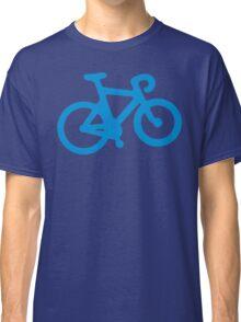 Blue Simple Bike Classic T-Shirt