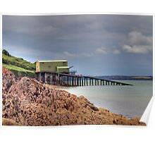 angle lifeboat station Poster