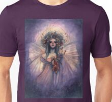 Shimmering Dream - Fairy with Flower Bouquet Unisex T-Shirt