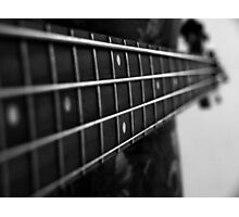 bass guitar Photographic Print