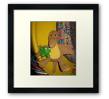 Somebody Come and Play! Framed Print